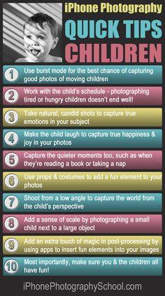 iPhone Children Quick Tips