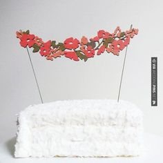 So good! - Flower Garland Cake Topper | CHECK OUT MORE IDEAS AT WEDDINGPINS.NET | #weddings #rustic #rusticwedding #rusticweddings #weddingplanning #coolideas #events #forweddings #vintage #romance #beauty #planners #weddingdecor #vintagewedding #eventplanners #weddingornaments #weddingcake #brides #grooms #weddinginvitations