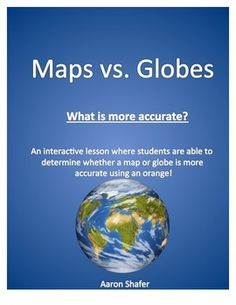 This lesson allows students the opportunity to actively determine whether a map (2D) or globe (3D) is more accurate. Students will be peeling an orange in order to provide justification for their answers. They will also be able to practice identifying the major latitude and longitude lines of the Earth.