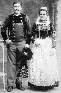 1880-1940 - Les plus beaux couples gabéricois en costumes bretons - GrandTerrier