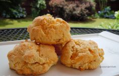 Sunday Brunch...Eggs, Bacon & Easy Cheddar Black Pepper Biscuits / Gourmet Girl Cooks