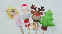 Christmas pencil souvenir