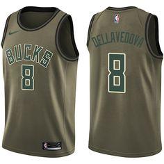 Nike Bucks  8 Matthew Dellavedova Green Salute to Service NBA Swingman  Jersey Orlando Magic 1882ccd70