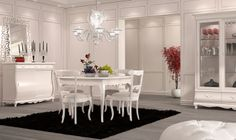soggiorno Fenice laccato bianco