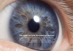 Engage with the new Aptamil ads for Aptamil Pronutra+ Follow On baby milk by BETC London.  Three print advertisements show the brand's use of Omega 3s, iron, and vitamin D to help support babies' eye, brain, and bone development.