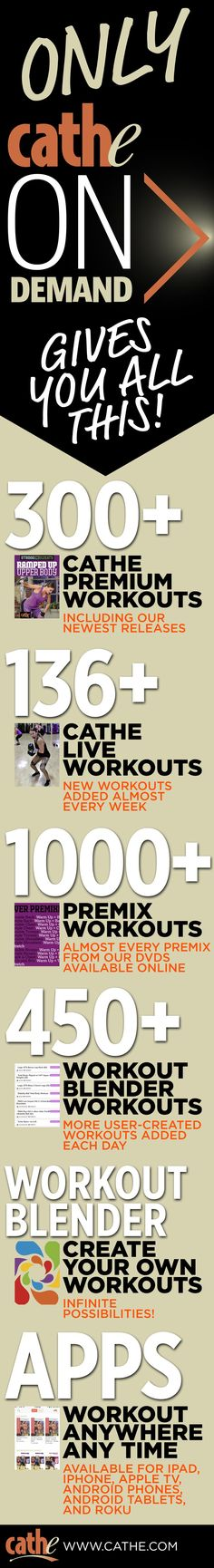 300 workout Any Time. Any Place. Cathe Live With Cathe Live you get to see and experience Cathe in the same way our gym members do unrehearsed, unscripted and little to no editing. Now yo Workout Challange, Hiit Workout Plan, Card Workout, Workout Guide, Stephen Amell Workout, Spartan 300 Workout, Gladiator Workout, Pop Workouts, Muscles In Your Body