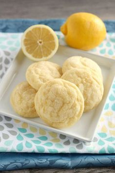 I still want to learn how Pacific Cookie Company makes theirs...Soft Baked Lemon Cookies on MyRecipeMagic.com