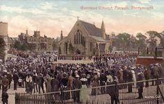 Vintage churches of the world | Garrison Church Parade, Portsmouth | Kafka's World