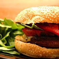 Grilled Portobello Sandwich by Carl