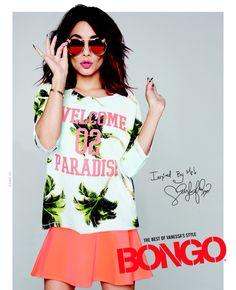 Vanessa Hudgens para la nueva campaña Bongo, primavera 2015.