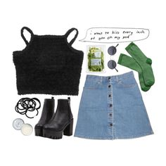 """""""DAY WEAR - 90's HIGH SKOOL"""" by pretty-basic on Polyvore"""
