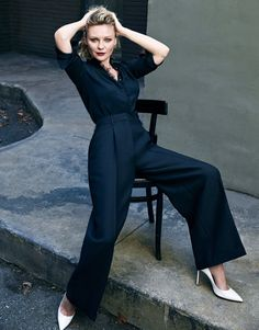 """""""Fargo"""" actress Kirsten Dunst covers the latest issue of Edit magazine"""
