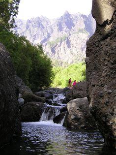 La Caldera de Taburiente La Palma  Canarias  Spain.Paque natural, UNESCO,Patrimonio de la humanidad