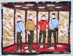 Trek quilt.  My husband would mock me for years if I got this but IT IS AMAZING.