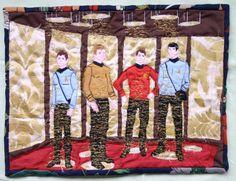 Trek quilt.  (*Wonderful and amazing! -kmh*)