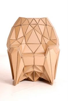 Radiolarian Chair by Lazerian Studio