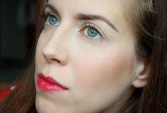cherry lips and nice blush with h&m kabuki brush Cherry Lips, Blush, Nice, Rouge, Nice France