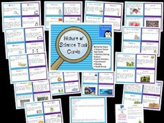 5th Grade Science STAAR Task Cards
