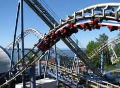 Looking for statistics on the fastest, tallest or longest roller coasters? Find it all and much more with the interactive Roller Coaster Database. Roller Coasters, Sydney Harbour Bridge, Amusement Park, Finland, Travel, Viajes, Roller Coaster, Trips, Traveling