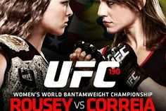 Rousey all the way!!! Fight's tonight and 9 pm!