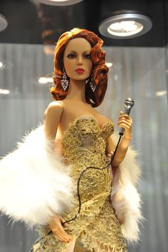 Superdoll Collectables and Elizabeth Arden inspired by Abbe Lane