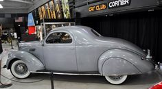 1937 Lincoln Zephyr Business Coupe