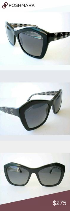 Chanel polarized sunglasses Authentic  These were store display and are in excellent condition  Includes case only CHANEL Accessories Sunglasses