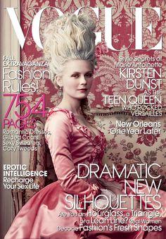 Kirsten Dunst Sept 2006 Vogue cover
