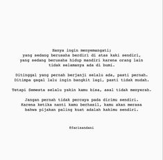 Quotes Rindu, Study Quotes, Mood Quotes, Best Quotes, Life Quotes, Daily Quotes, Self Love Quotes, Love Yourself Quotes, Broken Home Quotes