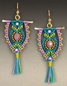 Micro-Macrame Jewelry kit  $30