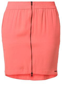 Calvin Klein Jeans KAMRYN Puffball skirt orange