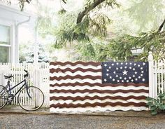 houses decorated for the 4th of july | Red White and Blue decorating ideas: ... | Fourth of July