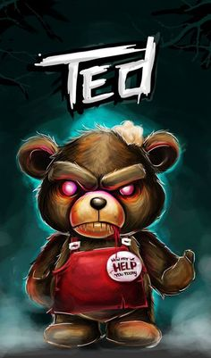 Dope art - Zombie Ted by Don Motta I was surprised by how funny this movie was! Cartoon Wallpaper, Simpson Wallpaper Iphone, Graffiti Wallpaper, Trippy Wallpaper, Nike Wallpaper, Zombie Kunst, Zombie Art, Rob Zombie, Dope Cartoon Art