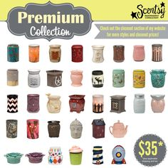 Scentsy's Premium #Warmers stand out with high-end materials, finishes & distinctive shapes.https://michelerichard.scentsy.us/.  /Buy/Category/2133 #scentsy