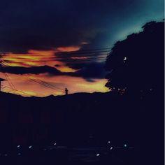 Hermoso atardecer en mi Cali bella by camilog0518
