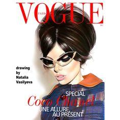 VOGUE Arte Fashion, Watercolor Pencils, Beautiful Drawings, Vogue Paris, New Art, Art Gallery, Portrait, Fashion Illustrations, Instagram Posts