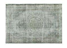 Vintage vloerkleed, recoloured, grijs 278cm x 194cm (nr1113) | Rozenkelim.nl - Groot assortiment kelim tapijten