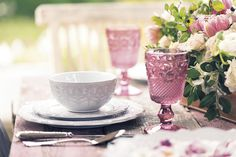 Rustic Lace dinnerware by Katie Alice