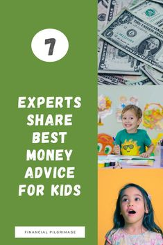 This contains: Pinterest image showing the best money advice for kids. Adhd Kids, Financial Literacy, Good Parenting, Finance Tips, Pilgrimage, How To Raise Money, Money Management, Personal Finance, Saving Money