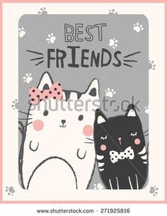 Cute cats illustration for apparel or other uses,in vector. Cute Cat Illustration, Diy Cat Toys, Kitten Toys, Super Cat, Cat Room, Sleepy Cat, Cat Photography, Cat Sleeping, Funny Cat Memes