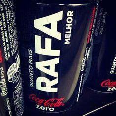 Do you want to try 'RAFA' Coke Zero? P.S. Made in Brazil! :)