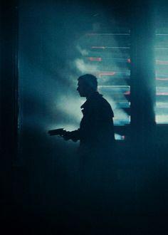 Cyberpunk, DecKard, Blade Runner, Man with Gun