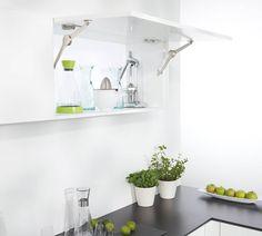 German designed and built kitchen storage solutions by Clever Storage. Kitchen Storage Solutions, Bathroom Medicine Cabinet, Floating Shelves, Home Decor, Barn, Cooking, Decoration Home, Converted Barn, Room Decor