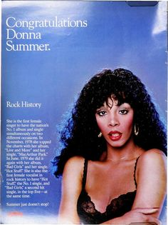 donna summer dating history But what the world didn't know was how donna summer risked it all to break  through barriers, becoming the icon of an era, and the supreme queen for every.