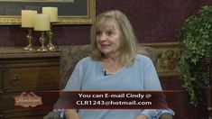 Cindy Rogers is with us to talk about her book and ministry.