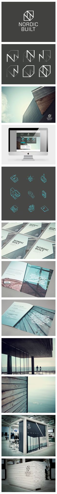 NORDIC BUILT - Branding, Exhibition Design