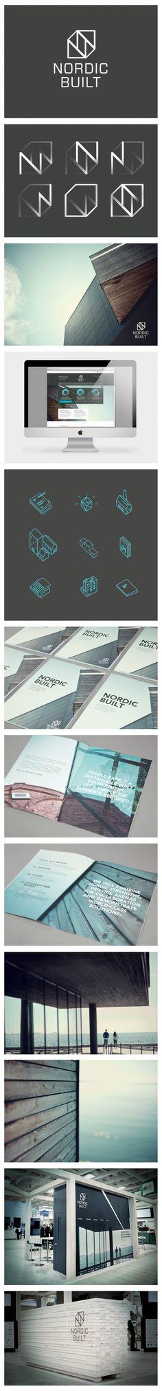 NORDIC BUILT - Branding, Exhibition Design