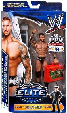 Mattel WWE Wrestling Exclusive Elite Collection Pay Per View Action Figure Randy Orton [Jim Ross Build a Figure!]