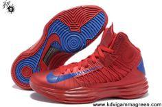 Low Price University Red Game Royal Nike Lunar Hyperdunk 2013 Men's Basketball Shoes Store