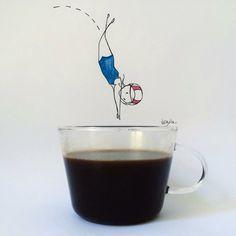 Tuffo nel caffè